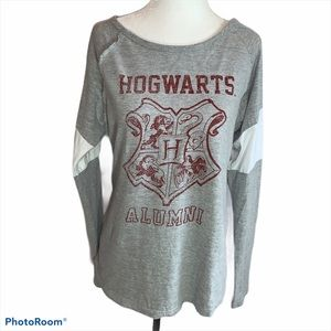 Harry Potter Hogwarts Alumni Long Sleeved Tee